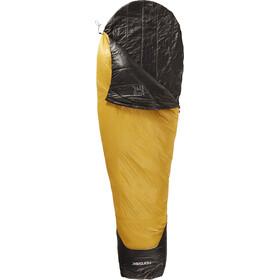 Nordisk Oscar -2° Sacco a pelo L, mustard yellow/black